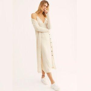 🐚 Free People Clementine Midi Dress (no sweater)